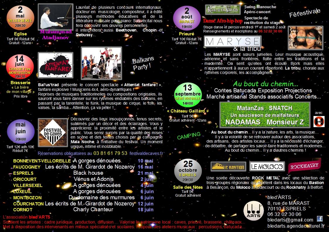 programme 2014 verso étoiles