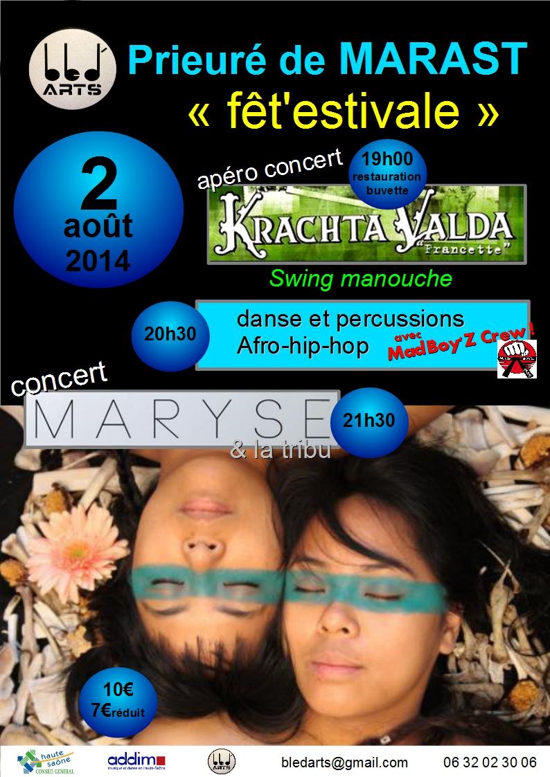 Affiche marast 2014