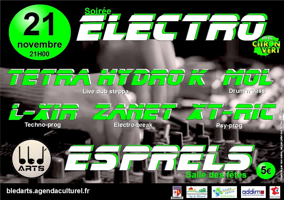 Soiree electro9