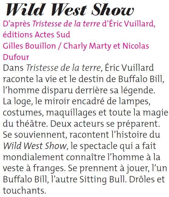 Wild west show 1